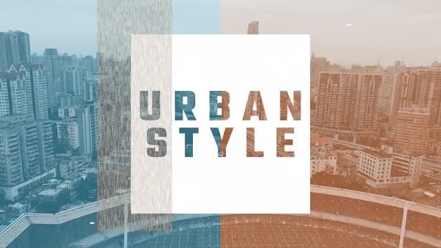 Urban Glitch Opener: Premiere Pro Templates