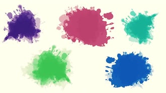 Watercolor Pack: Motion Graphics