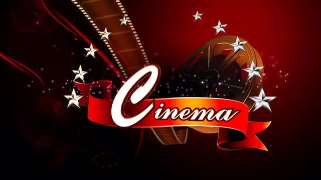 Cinema Background For Logo Reveal: Stock Motion Graphics