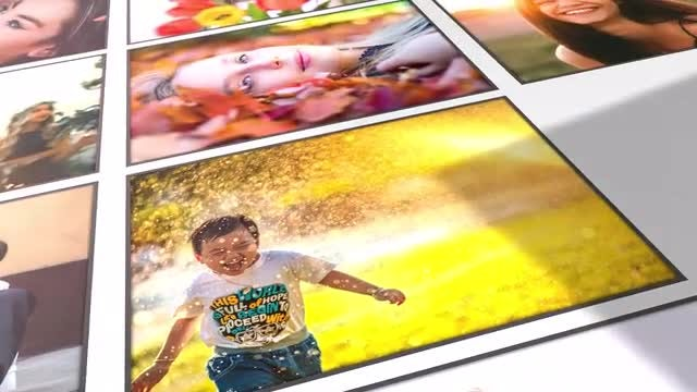 Clean Photo Gallery: After Effects Templates