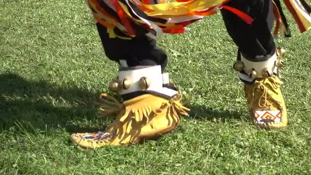 Native American Man Dancing: Stock Video