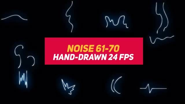 Liquid Elements 3 Noise 61-70: Stock Motion Graphics