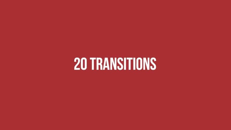 2D Transitions : Premiere Pro Templates