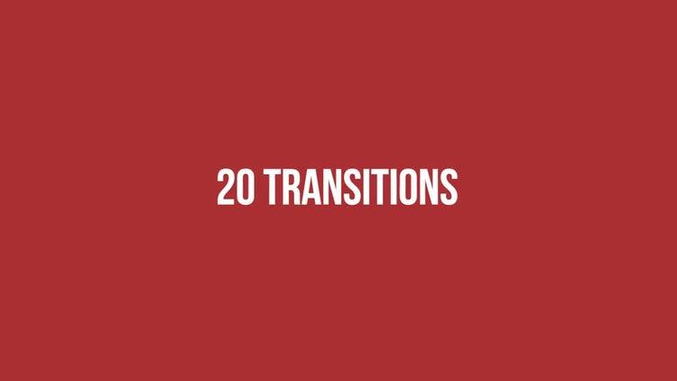 2D Transitions : Premiere Pro Templates