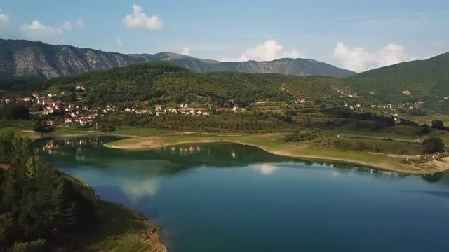 Aerial Shot Of Spectacular Countryside: Stock Video