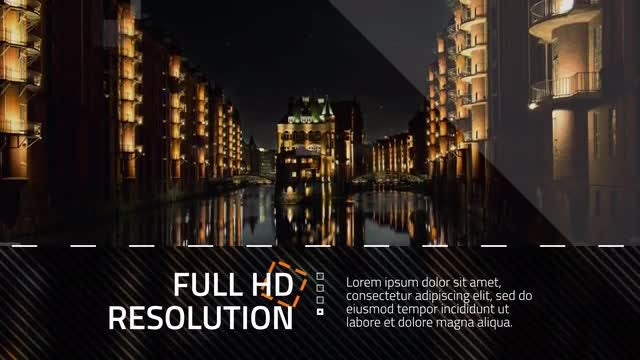 Square and Dotted Line Promo: After Effects Templates