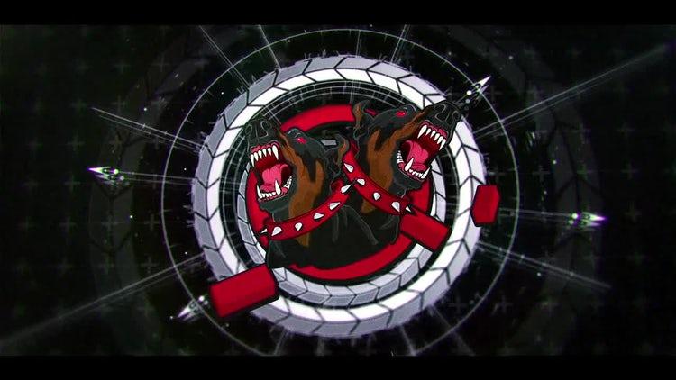 Sci Fi Modern HUD Logo 2: After Effects Templates