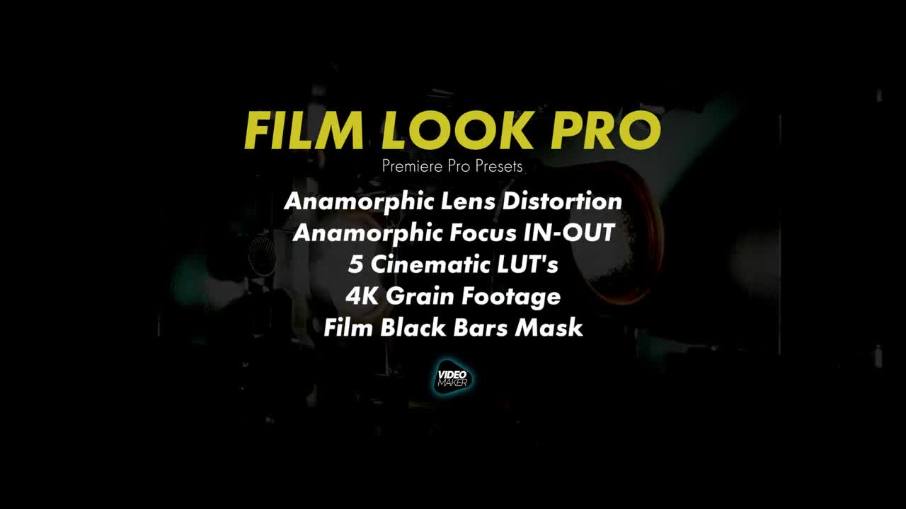 Film Look Pro - Premiere Pro Presets | Motion Array