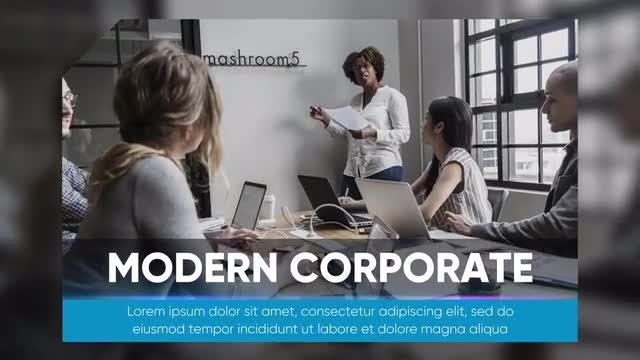 Business Presentation - Modern Corporate: Premiere Pro Templates