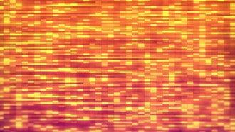 Orange Blocks: Motion Graphics