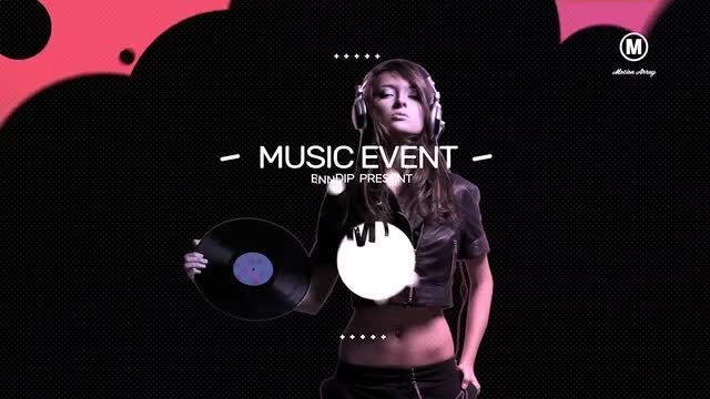 Music Event 4K: After Effects Templates