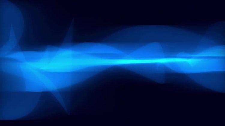 Blue Abstract Smoke: Motion Graphics
