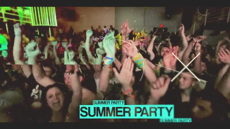 Party Slideshow: After Effects Templates