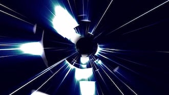 Fractal Tunnel: Motion Graphics