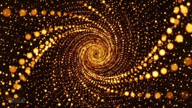 Spiral Particles: Stock Motion Graphics