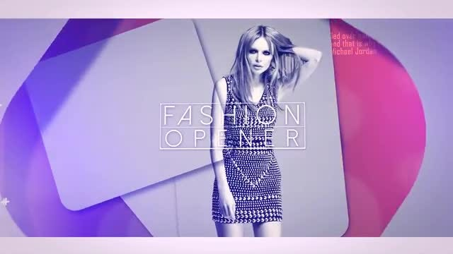 Glass Fashion Opener: After Effects Templates