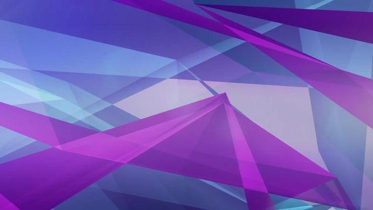 Blue-Purple Modern Background Animation: Stock Motion Graphics