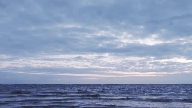 Ocean Background: Stock Video