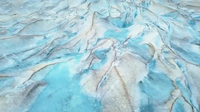 Beautiful Glaciers In Alaska: Stock Video
