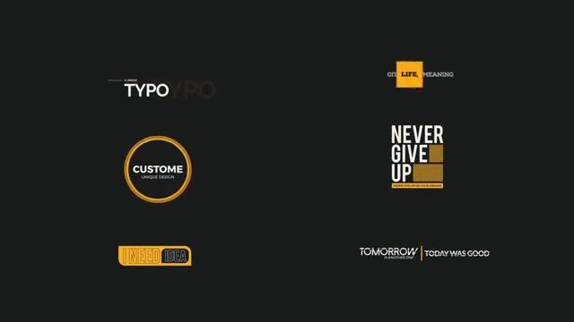 Creative Titles - Style 1: Motion Graphics Templates