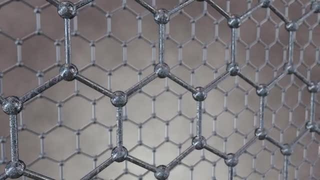 Honeycomb Grid Loop: Stock Motion Graphics
