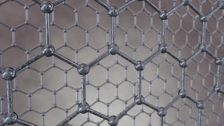 Honeycomb Grid Loop: Motion Graphics