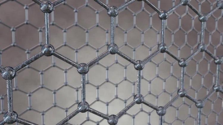 Honeycomb Grid Loop: Stock Motion Graphics