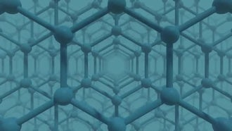 Honeycomb Grid Infinite Zoom: Motion Graphics