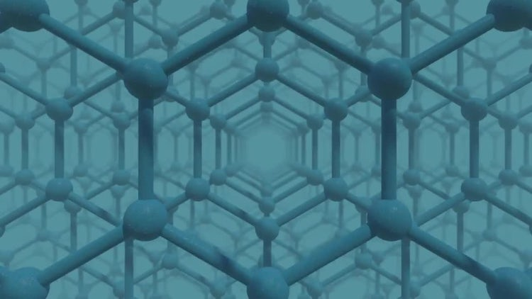 Honeycomb Grid Infinite Zoom: Stock Motion Graphics