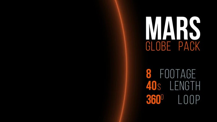 Mars Pack: Stock Motion Graphics