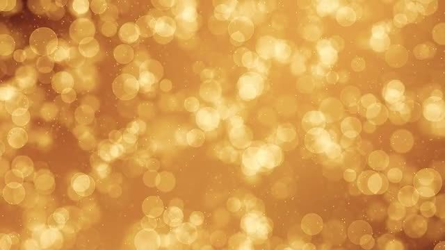 Gold Particles Backgrounds: Stock Motion Graphics