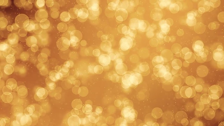 Gold Particles Backgrounds: Motion Graphics