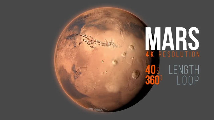 Mars 4K: Motion Graphics