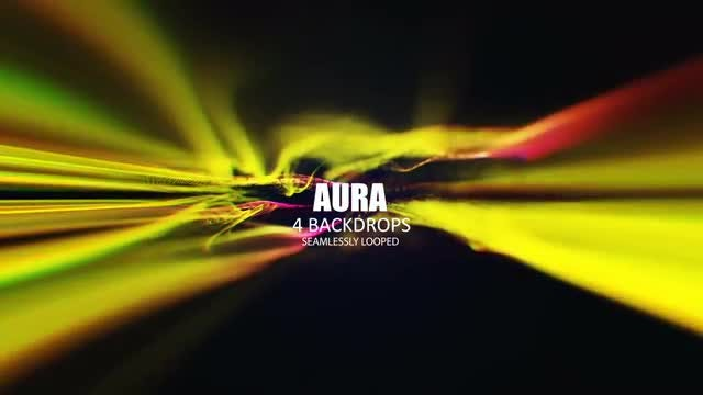 Aura Background Piece: Stock Motion Graphics