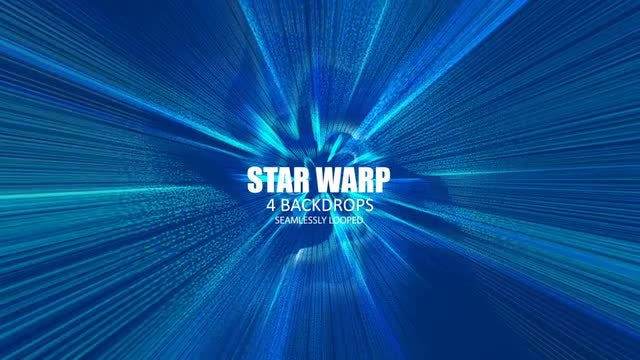 Star Warp: Stock Motion Graphics