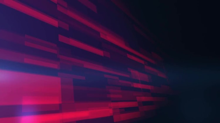 Floating Rectangles: Motion Graphics