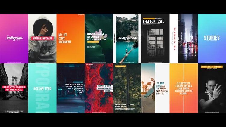 Clean Instagram Stories: Premiere Pro Templates