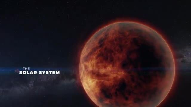 Solar System Titles: Premiere Pro Templates