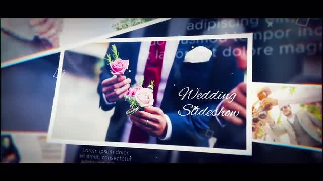 Wedding Cinematic Slideshow: After Effects Templates