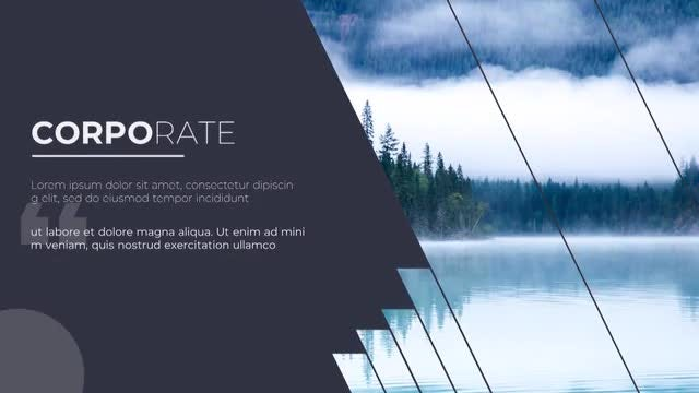 Corporate Slideshow: Premiere Pro Templates
