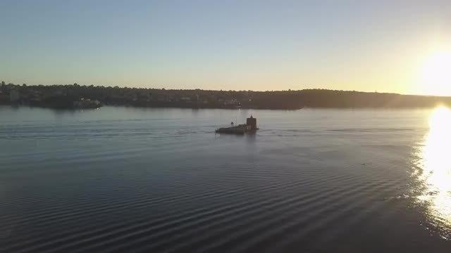 Kayaks On Sydney Harbour: Stock Video