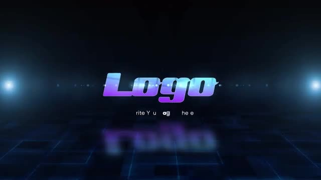 Mosaic Logo Reveal: After Effects Templates