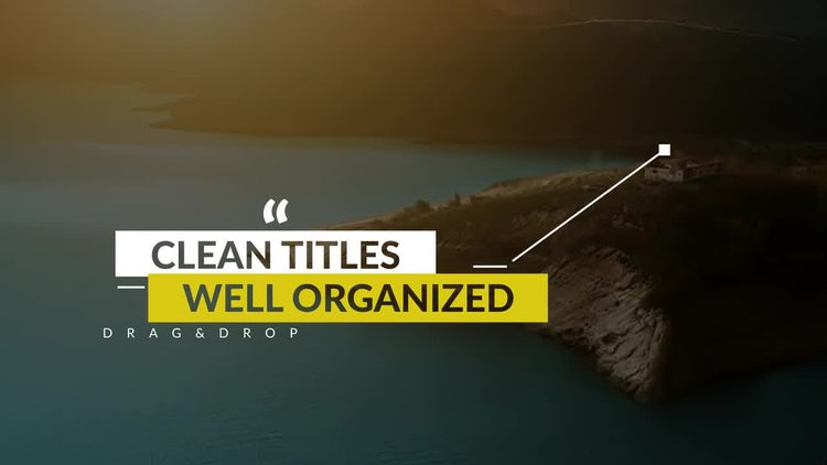 Call Out Titles v.1: Motion Graphics Templates