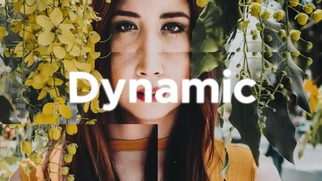 Dynamic Slideshow: Premiere Pro Templates
