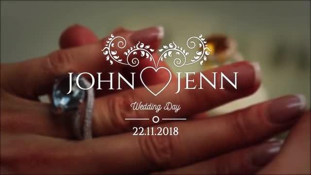 Romantic Wedding Titles Pack: Motion Graphics Templates