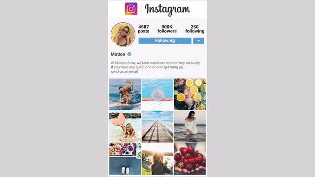 Instagram Stories Vertical: Premiere Pro Templates
