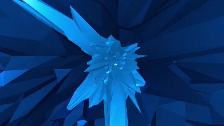 Crystal Flux: Motion Graphics
