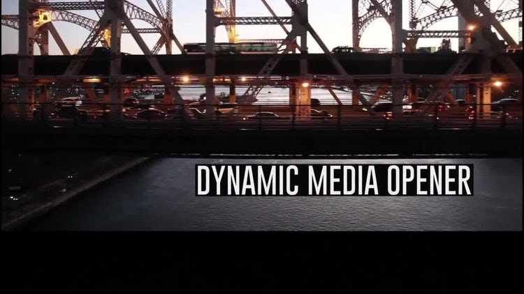 Dynamic Opener 2: After Effects Templates