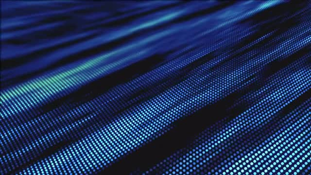 Blue Dotted Waves: Stock Motion Graphics