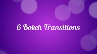 6 Bokeh Transitions: Motion Graphics